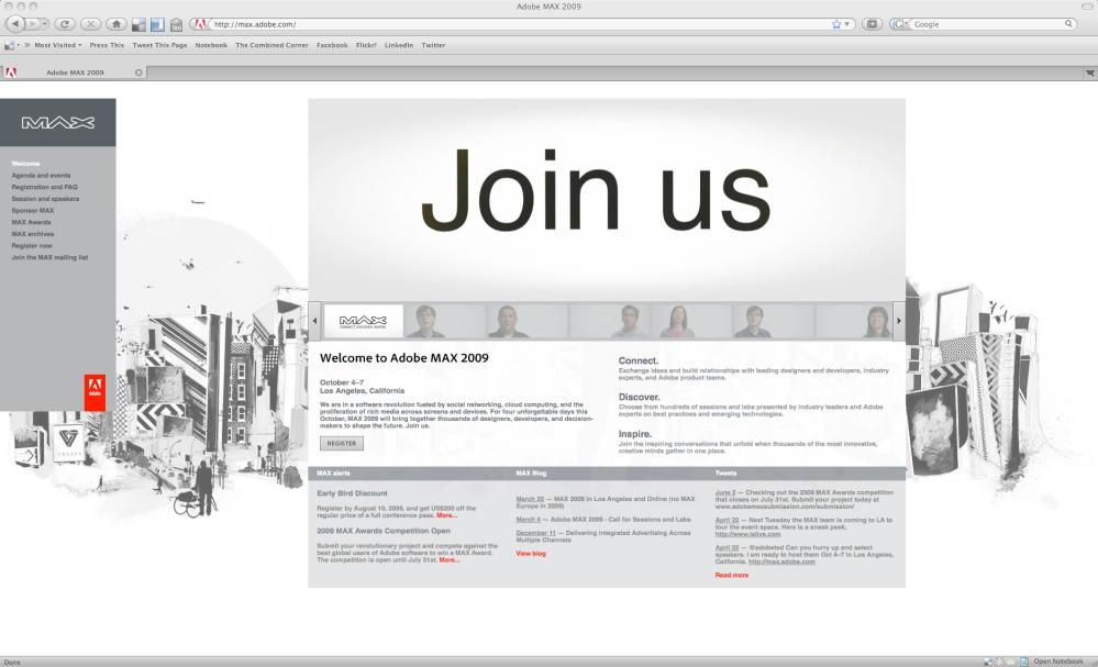 AdobeMaxWebsite