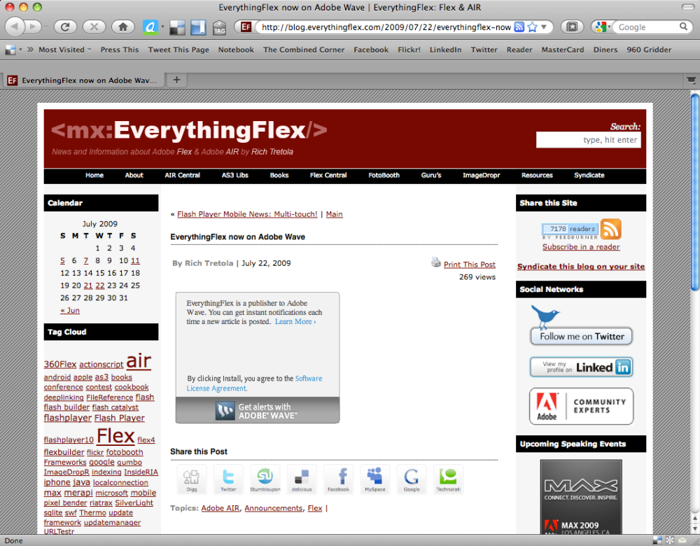 EverythingFlex WebSite