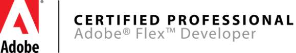 Adobe Certified Flex Developer Logo