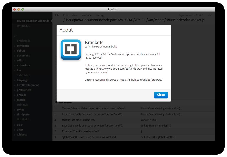 Introducing Adobe Brackets… a new HTML/CSS/JavaScript Code